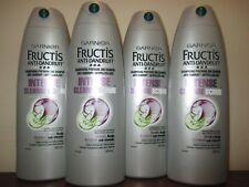 Lot of 4 Garnier Anti-Dandruff Intense Cleanse Scrub Shampoo 384ml / 13 oz