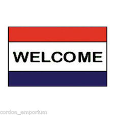 Welcome Event Signage Poly Banner 3X5 Foot Flag