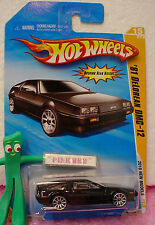 2010 #15 Nm Hot Wheels '81 DeLorean Dmc-12 1981 015/240 ~variant Black~New Model