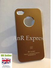 Air Jacket Aluminum case Iphone 4/S luxury metal hard bck cover+Screen Protector