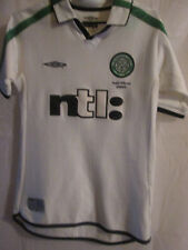 Celtic 2002-2003 Away Treble Winners Football Shirt Size Small boys /15042