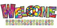 Razzle-dazzle bienvenida Bulletin Board Aula Display Banner Set