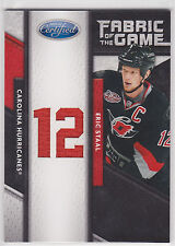 2011 11-12 Certified Fabric of the Game Jersey Number #29 Eric Staal 9/25