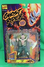 Ghost Rider Glow in the Dark Skinner Action Figure Toy Biz 1995 New on Card