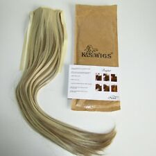 Neitsi 22'' Clip-In Pony Tail Hair Extension F16-613   Blonde with Highlights