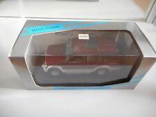 Minichamps Mitsubishi Pajero LWB in Dark Red on 1:43 in Box