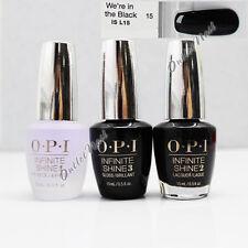 OPI Infinite Shine >>> Base Top Coat + Choose 1 Color Nail Lacquer 10 Day Polish