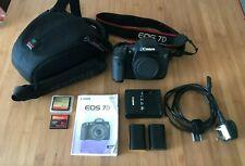 Cámara SLR Canon EOS 7D 18.0 MP Digital, Solo Cuerpo + Accesorios