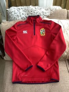 Canterbury British Lions 2021 1/4 Zip Fleece Size Small Worn Once Mint Condition