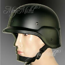 M88 buena Airsoft Kevlar Pasgt SWAT USMC MILITAR Réplica Casco Negro XW タ