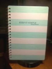 "TOMMY BAHAMA 10"" X 7"" LINED NOTEBOOK KEEP IT SIMPLE"