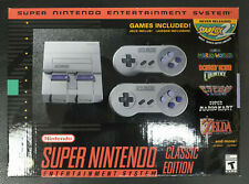 Super Nintendo Classic Edition New in Box Free Shipping in USA or Canada