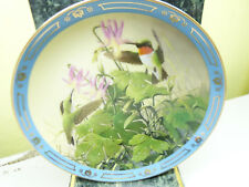 "Derk Hansen ""Morning Visitors"" 1991 Collector'S Plate No. A6948 (15)"
