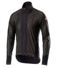 Castelli ciclismo hombre Idro chaqueta Pro negro grande L