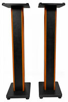 "2) Rockville RHTSC 36"" Inch Bookshelf Speaker Stands Surround Sound Home Theater"