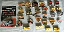 Vintage Nascar Racing Lapel Hat pin lot