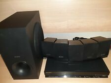 ⭐️Sony DVD 5.1Ch HDMI FM Home  Surround Receiver Amp With Speakers HBD-TZ140⭐️