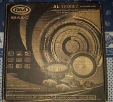 "Boschmann 6.5"" 16.5cm Multifit 2 Way Car Component Speakers High Range 58000hz"