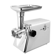 2800W Electric Meat Grinder Sausage Stuffer Maker Stainless Cutter Home White US