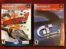 Burnout 3 Takedown - Gran Turismo 3 - Ps2- Complete - Tested - Working