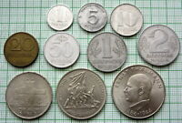 EAST GERMANY 1950 - 1983 SET 10 VARIOUS COINS, ALL DENOMINATIONS