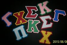 9cdc681b6625c Greek Sorority Iron On Letters Fraternity Alpha - Omega kappa delta phi mu  chi