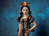 NEW Barbie Dia De Los Muertos ( Day of the Dead) Doll IN HAND