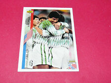 BOLIVIA  CHECK LIST 188-250 UD1-30 FOOTBALL CARD UPPER USA 94 PANINI 1994 WM94