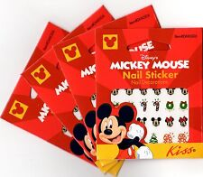 120 CHRISTMAS Official Disney MICKEY MOUSE Nail Stickers Decals Lot Disney Trip