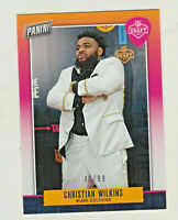 2019 Panini PANINI DAY KICKOFF DRAFT NIGHT R18 CHRISTIAN WILKINS RC Rookie 40/99