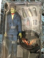 """SIDESHOW BUFFY THE VAMPIRE SLAYER  ANGEL LORNE IN BLUE 12"""" FIGURE....NEW IN BOX!"""