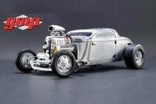 1934 BLOWN ALTERED COUPE RAW STEEL GMP 18880 1/18 DIECAST CAR