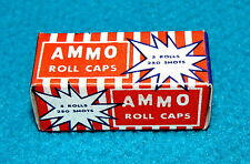 Vintage! AMMO Roll Caps : EMPTY BOX @ United Fireworks Co. DAYTON, OHIO