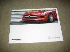 2012 Mercedes C 63 E 63 CLS 63 S 63 CL 63 ML 63 SLS AMG USA Prospekt Brochure