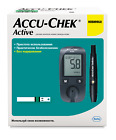 Accu-chek Active Blood Glucose Meter  10 free tests Works by mmol/L