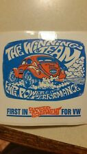 EMPI Vintage VW,  The Winning Team sticker shipped