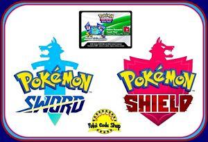 SWORD & SHIELD CODES ~ Pokemon Online Booster Code Cards TCGO Digital SENT FAST