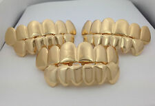 *CHEAP GOLD PLATED GRILLZ SALE* LOT OF 3 *IMPERFECT*SETS HipHop Grills For Teeth