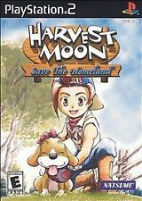 Harvest Moon: Save the Homeland (Sony PlayStation 2, 2001) PS2 Video Game