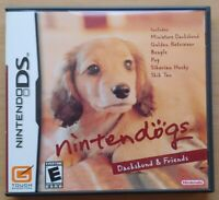 Nintendogs Dachshund & Friends Nintendo DS DS Lite 3DS 2DS Game Works Complete