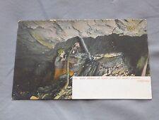 Vintage Postcard: Gold Miners at Work 3,000 feet Underground, CA