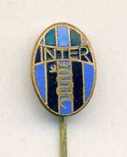 old FC INTER MILANO Football PIN BADGE Soccer INTERNAZIONALE Italy DISTINTIVO