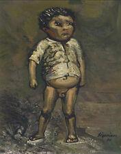 Siqueiros Alfaro David Nino de Mexico Canvas 16 x 20  #4877
