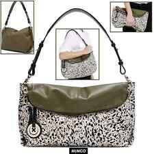 NEW MIMCO SUPERNATURAL HOBO KHAKI LEATHER + BagCharm & D'Bag rrp $550 sale $295