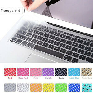 "Silicone Keyboard Cover Film For Apple Macbook Pro 13"" 15"" Retina Air 11"" #w"
