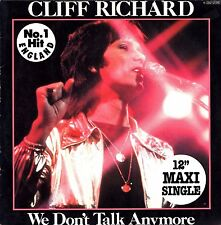 "CLIFF RICHARD  ""We Don´t Talk Anymore"" Maxi-Single 12"" EMI 1C 052-07076 YZ"