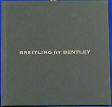 Breitling for Bentley 2006 Watch Catalog with some Bentley History