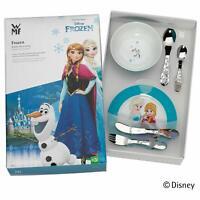 WMF Disney Frozen Vajilla para niños 6 pzas Plato cuenco y Cubiertos Acero Inox
