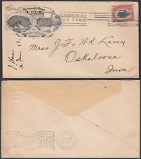 United States 1901- Illustrated cover from Indianapolis. Theme: Pig .(5G-25781)