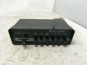 WHELEN [PCCS9N] Power Control Center Panel Switchbox Relay - USED